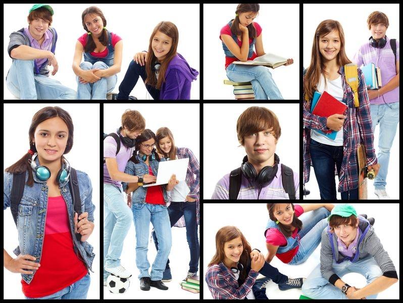 Pasfotolijst Middelbare school